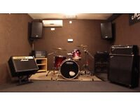 Solo Practice £5/hr - West London Rehearsal Rooms - Full Backline