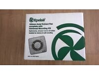 Xpelair DX100T 100mm Axial Extractor Fan For Bathroom, Shower Room, Toilets