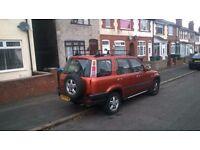 honda crv 2.0 petrol automatic transmission MOT 11.06.17