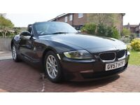 BLACK BMW Z4, 9m MOT, FSH, NEW TIMING CHAIN, GOOD CONDITION-REDUCED FOR QUICK SALE