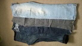 mens/youths clothes, Star raw, Henleys, ben sherman - car boot?