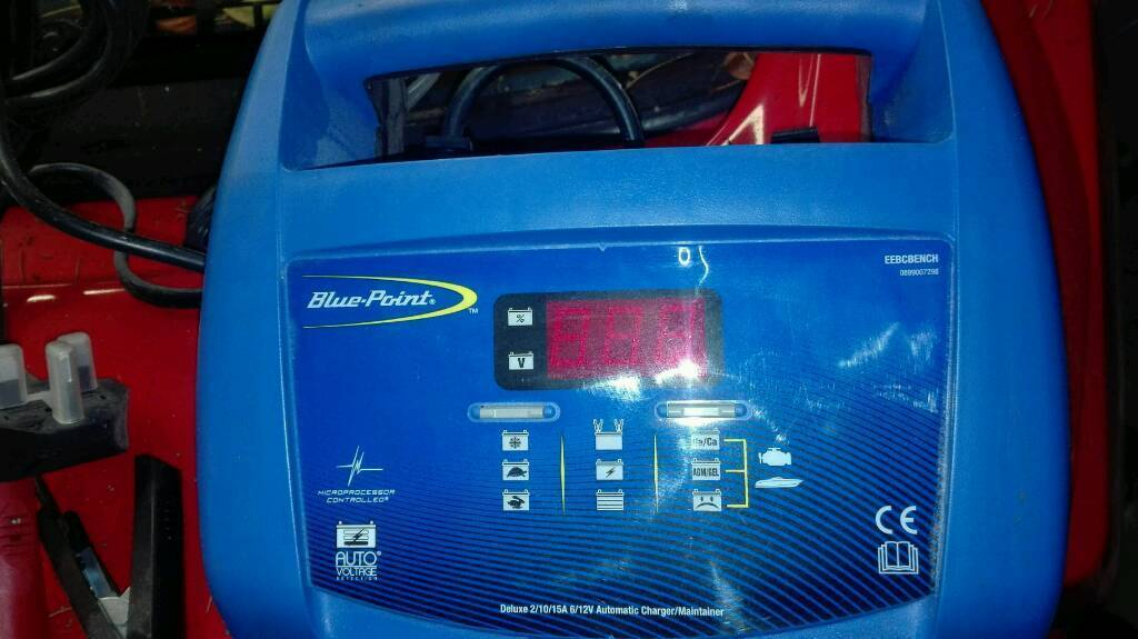 Brand New Blue Point Battery Charger Maintainer Eebcbench