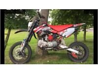 M2r 140 cc 125 sticker kit monster of a bike fast