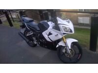 Motorbike Skyjet SJ Sport 125cc great little bike, fast for its class sold as seen, :)