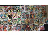Comics Marvel DC 43 in total collection