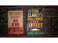 Tom Clancy lives on in these 2 great books