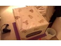NURSERY STORAGE BOX