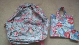 CATH KIDSTON 3 items - BALLERINA KIDS MINI RUCKSACK, + BAG with MATCHING PURSE