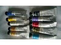 daler and rowney water colour paints