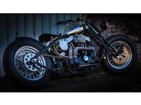 Harley Davidson custom bobber 1200cc