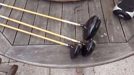 Driver wood set