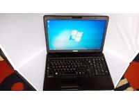 Toshiba satellite pro laptop with 16 inch screen,good battery,new installation of windows 7,office07