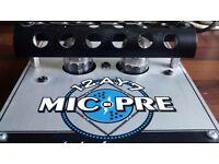 Electro Harmonix 12AY7 Mic Pre Class A Tube Microphone Preamp