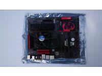 I7 4771 cpu + G45 + 16GB DDR3