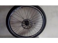 26in MX front wheel almost new