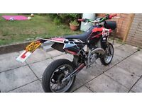 ROAD LEGAL - 2007 Husqvarna SM 125cc 2 Stroke - 9 Months MOT - Very Quick Bike!!