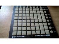 novation launchpad mini mk2 midi pad controller