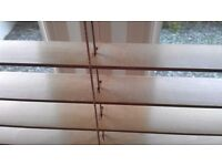 4 QUALITY SOLID WOOD VENETIAN BLINDS