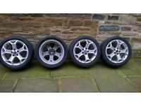 "Ford mondeo 17"" 5 stud alloys"