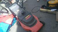 black n decker battery lawn mower $50.00