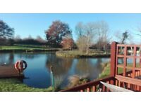 Holiday Lodge for sale at Yaxham Waters Holiday Park Norfolk Great opportunity to sublet/private use