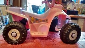 Electric ride on quad bike first size (new)