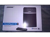 BOSE SoundTouch 10 Wireless Multi-Room Speaker BLACK - Brand New!