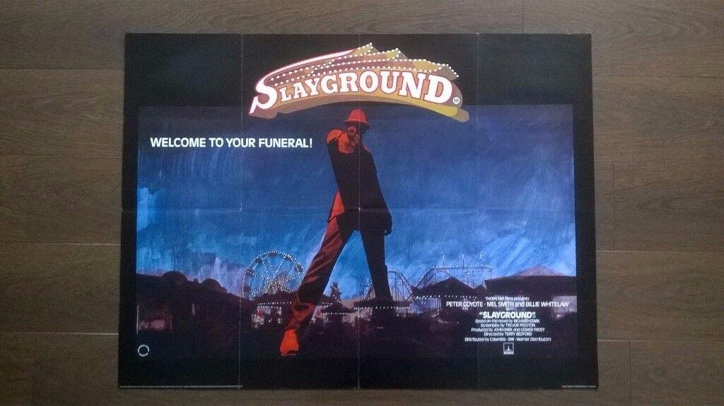 slayground ' original cinema poster