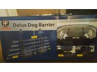 Deluxe universal dog barrier