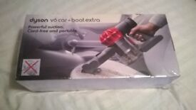 Dyson V6 cordless Car and Boat extra. Brand new sealed in box SOLD
