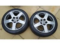 "16"" Santa Monica vw alloy wheels and tyres"