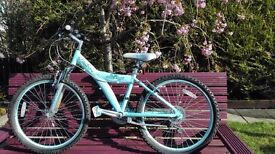 "Raleigh Diva 24"" girls bike 9-12yrs excellent condition"
