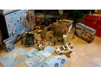 PLAYMOBIL - SECRET AGENT PLAYSETS - 100% COMPLETE, BOXED, IMMACULATE