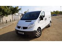 2011 RENAULT TRAFIC 12 MONTHS MOT 4 NEW TYRES MINT CONDITION LOW MILEAGE