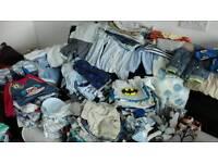 Huge bundle baby boy clothes 0-6