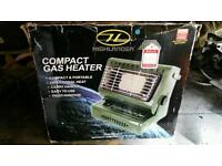 Gas powered heater