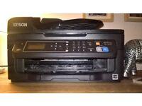 epson workforce wf-2630 printer, photocopier,fax machine,scanner, works with smart phone.