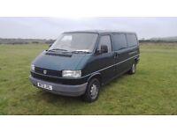 Vw T4 2.4 lwb van with ro k n roll bed