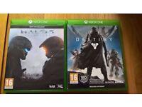 Halo 5 and Destiny (Xbox One)