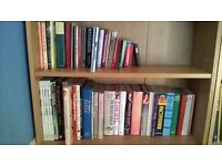 50 Paperback & Hardback Books Novels, Cooking, Gardening, Travel & Lifestyles