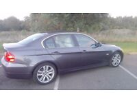 BMW 3 Series 325i E90 2005 55reg 218BHP cream leather 2.5 petrol
