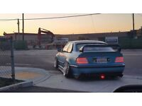 bmw e36 mods coupe convertible m3 mirrors..isotta stearing wheel spacers