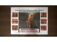 a man called horse ' original cinema poster
