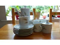 Wintering porcelain bravian tea set in very good condition