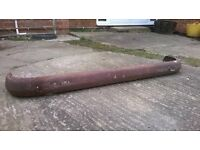 Volkswagen Early Bay 67 - 71 Rear bumper