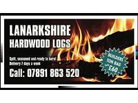 Quality hardwood logs