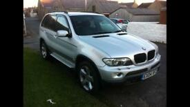 BMW X5 3.0i 2004 pre registered facelift model(same as 55plate onwards)