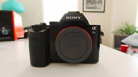 Sony A7s Camera (Body Only) - Full Frame 12.2MP E-Mount