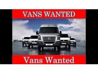 WANTED FORD TRANSIT MERCEDES SPRINTER CABSTAR PICK UP TIPPER RECOVERY