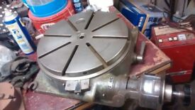 ROTARY TABLE 350mm diameter SWISS Made ENGINEERING MILL & DRILL